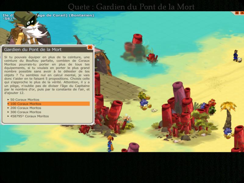 Quete Gardien Du Pont De La Mort Doface Fan Site Guide